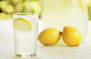 limonada para hidratarse