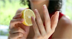 limon para las uñas